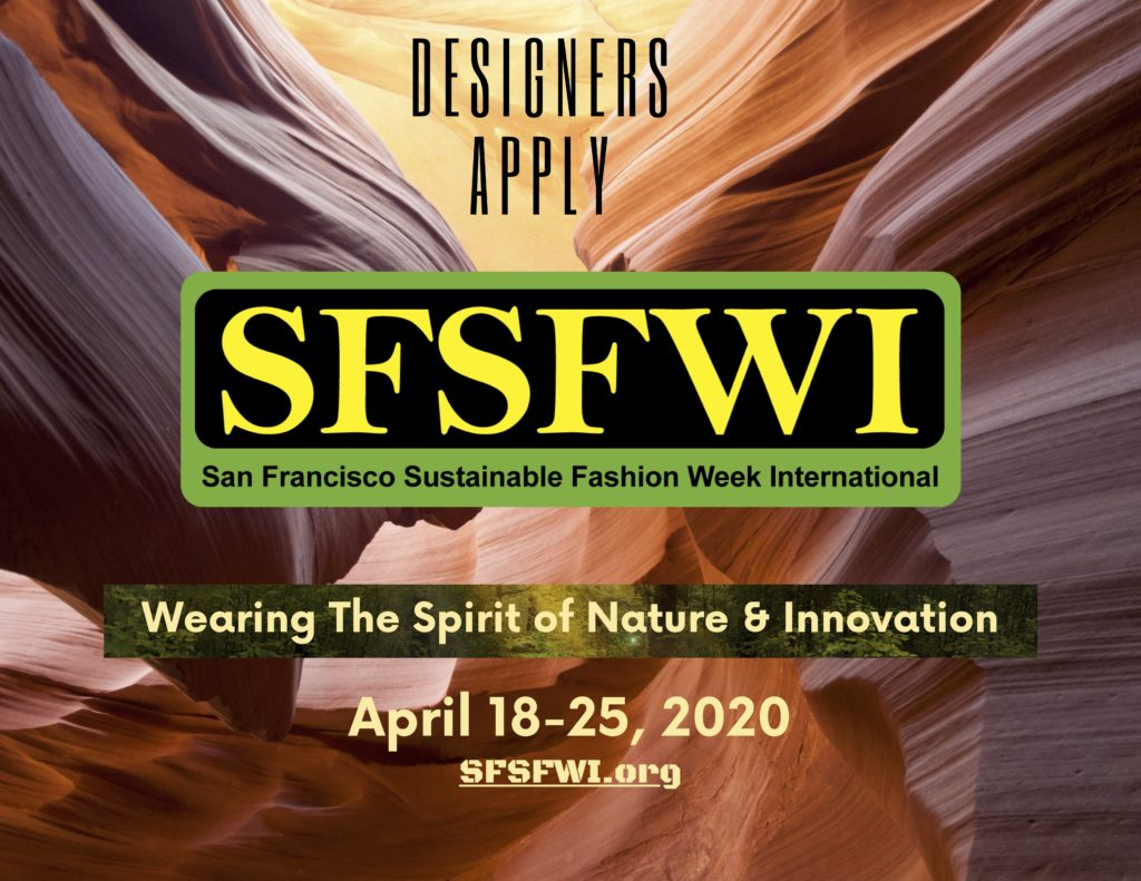 2020 Sustainable Designers & Professionals APPLY to SFSFWI 2020