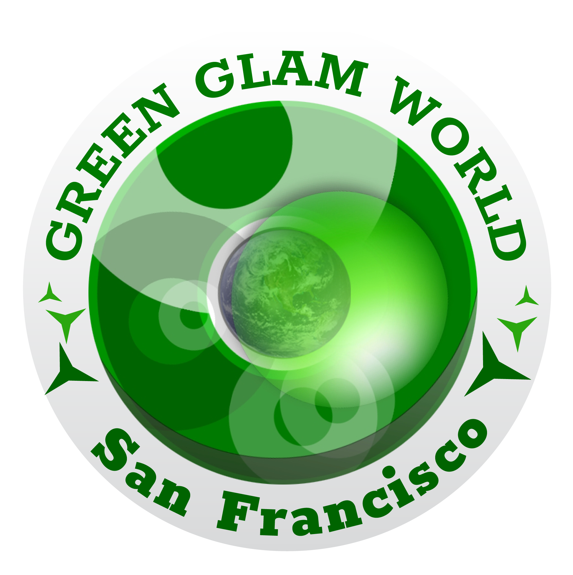 Green Glam World Logo 4