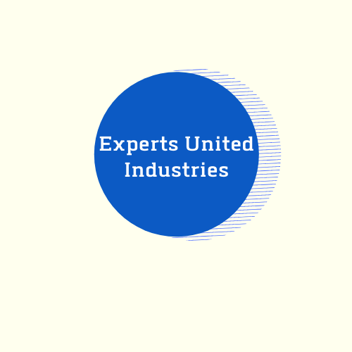 Final Blue Transparent Experts United Logo 500 X 500