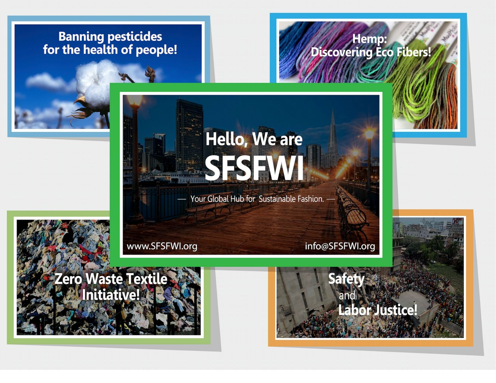 Hello, We are SFSFWI